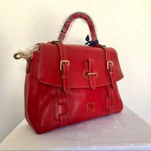 Dooney & Bourke Bags - •Dooney & Bourke• Florentine Flap Tab Satchel